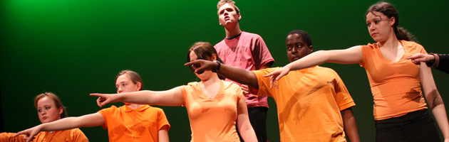 Barking & Dagenham Youth Theatre perform Seven