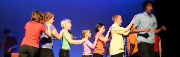 Barking & Dagenham Youth Theatre performs Seven